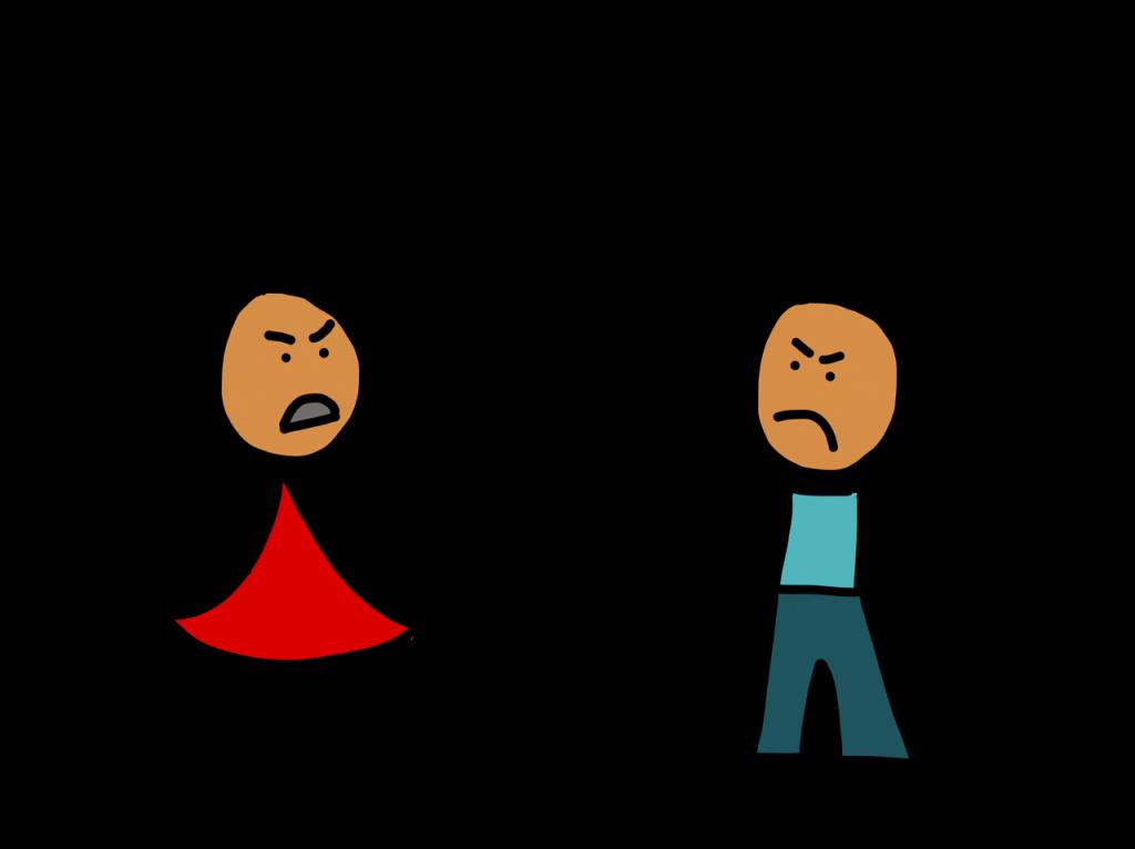 Conflict bekritiseren transparant