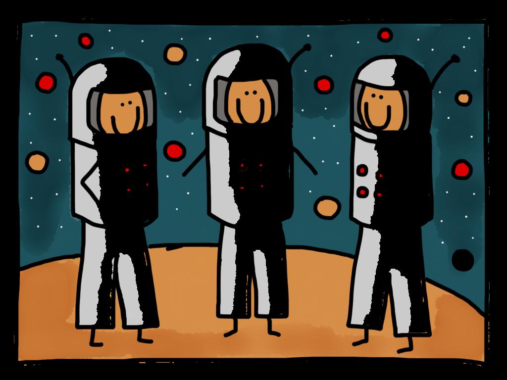 Jouw team door de bril van de astronaut